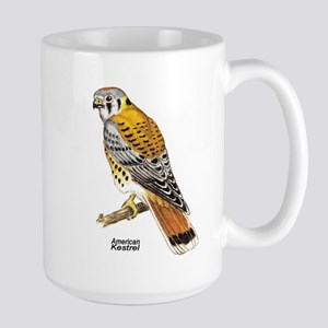 American Kestrel Bird Large Mug